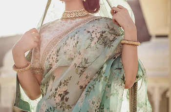8 Hairstyle on Saree for Engagement Ideas That Can Help You Ace Your Day Look With Ease