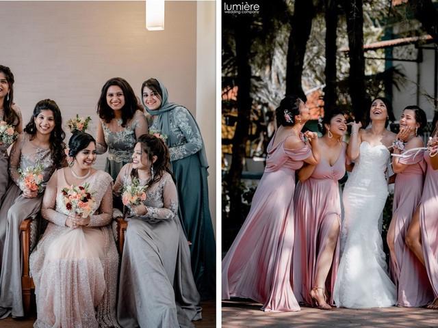 Breathtaking Bridesmaid Dresses for a Christian Wedding