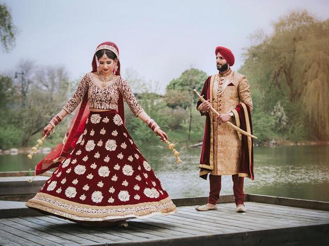 Churidar Colour Combination for the Groom on His Wedding Day