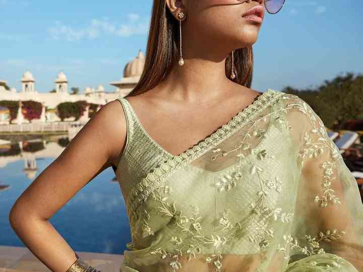 8Net Saree Designs for Your D-day That Will Make You Swoon