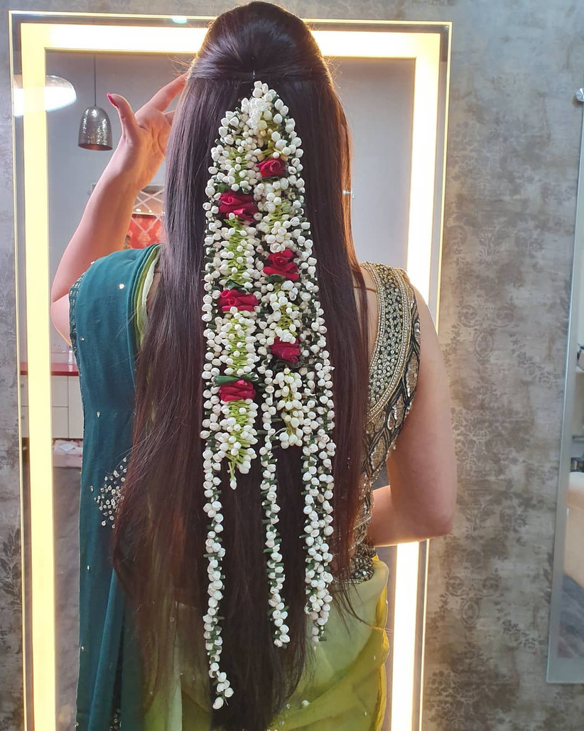 10 Inspiring Indian Wedding Hairstyles for Long Hair You Must Try Before Walking Own Towards the ...