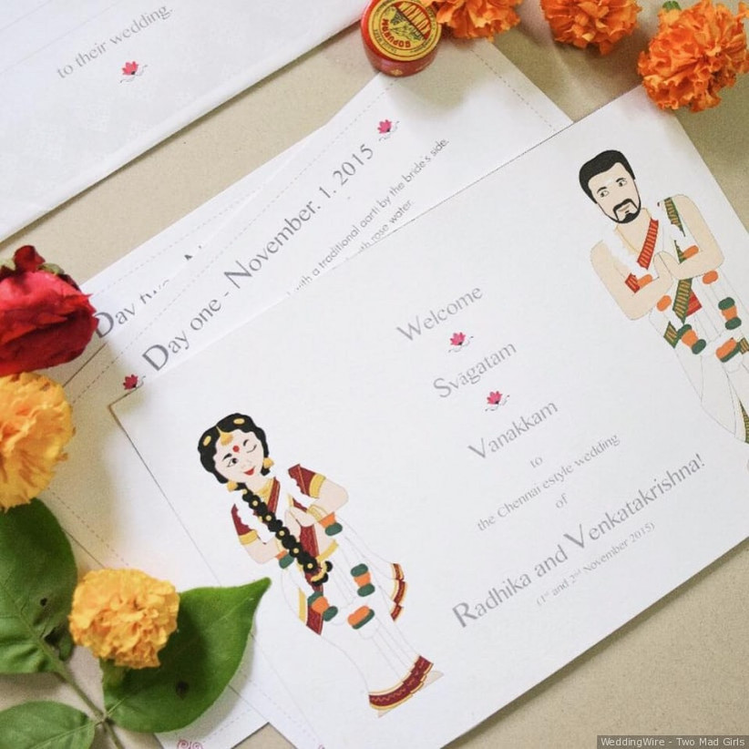 Simple South Indian Wedding Invitation Wordings For Friends That You