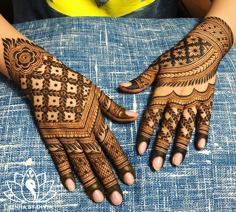 Latest And Simple Full Hand Mehndi Design Collection To Make