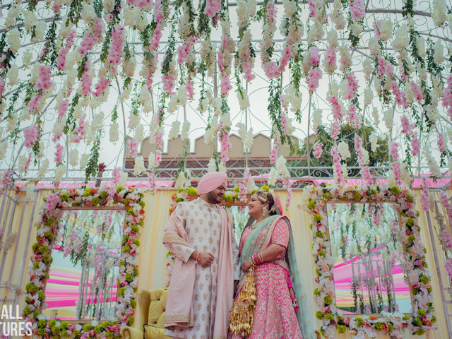 Stunning Ideas to Include Artificial Flower Decor for Monsoon Weddings