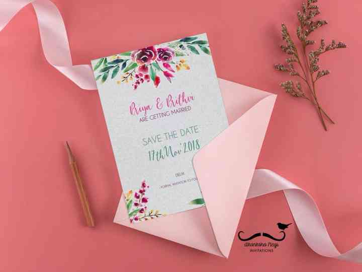 Wedding Invitation Card Template For Texts Here S What You Say