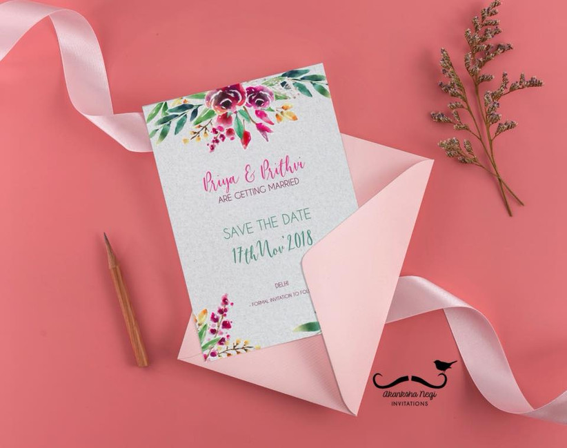 wedding invitation card template for