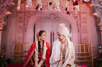 Their Regal Wedding Translated Their Love Story Beautifully & How