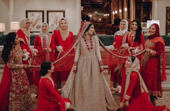 10 Red Dupatta Designs That We Just Could Not Take Our Eyes Off