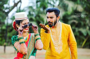 Maharashtrian Bride Look - Traditional Marathi Brides Wedding Look Ideas