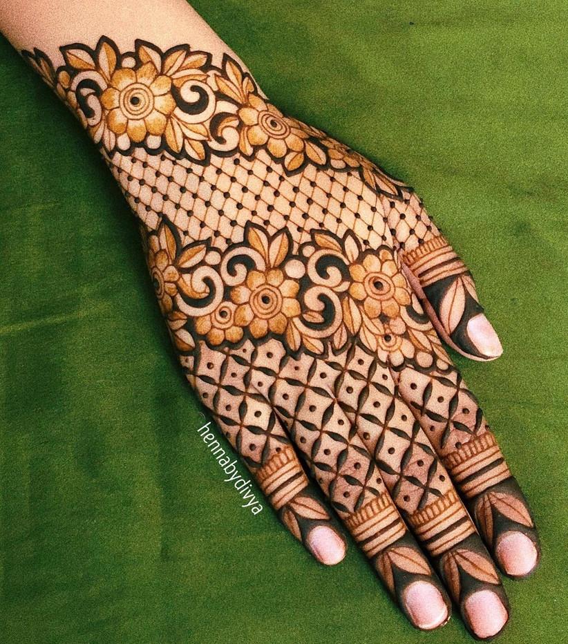 arabic mehndi photos gallery