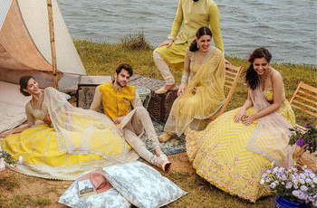 Breathtaking Haldi Dresses for Brides That Serve the Looks