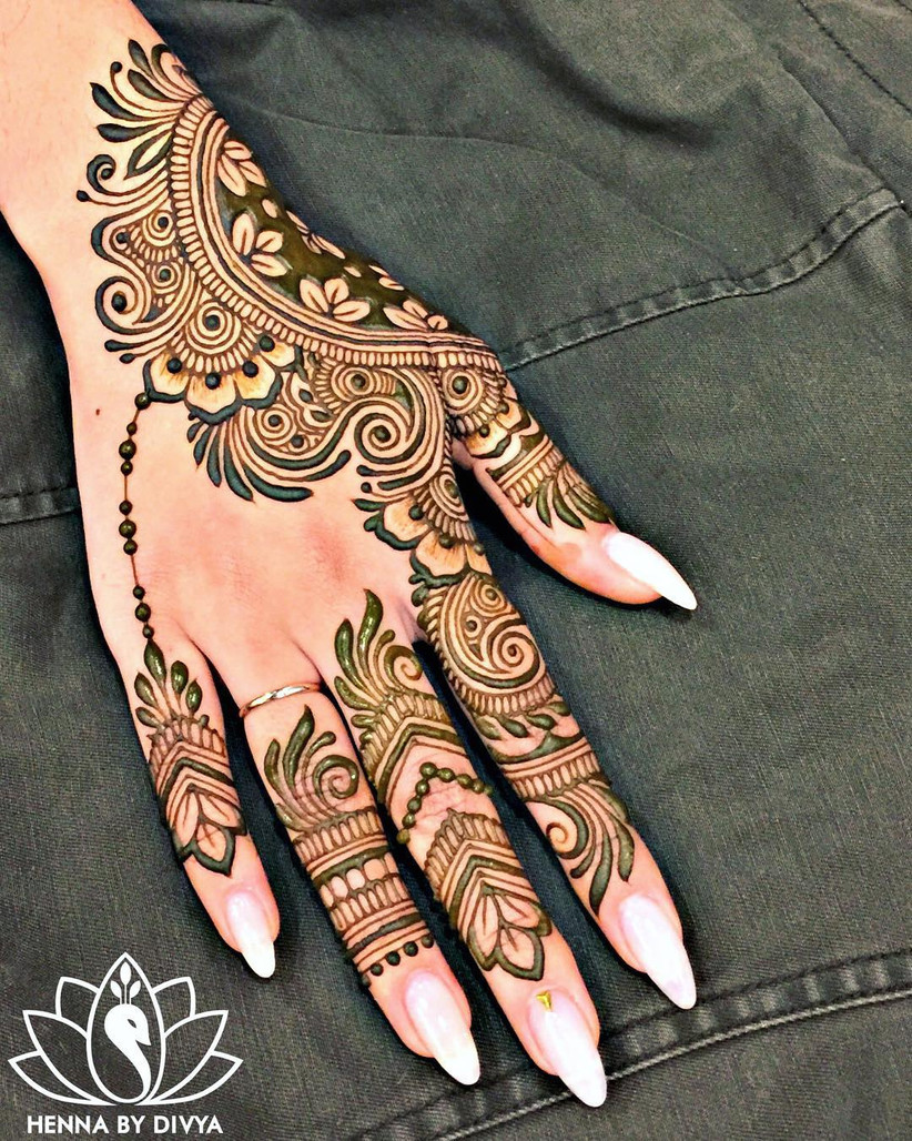 Take Your Pick 30 Arabic Mehndi Designs For Hands To Flaunt