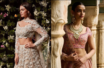 13+ Trendy Blouse Embroidery Designs for Your Perfect Wedding Wardrobe