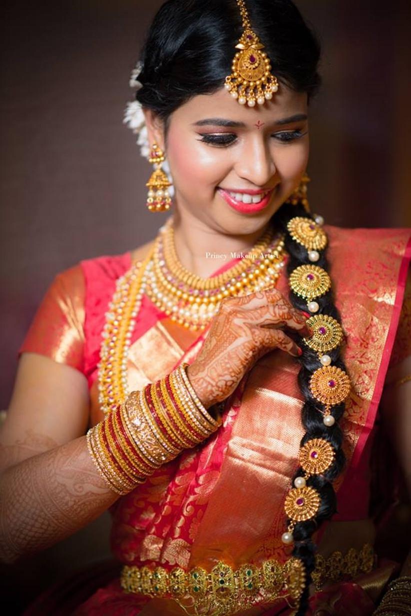 8 Poola Jada Images to Inspire Your Bridal Hairdo