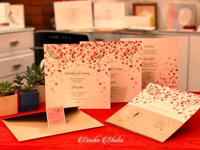 7 Marriage Card Designs for the New Millennial Couples, Embedded With the Gorgeousness of Rich Cultural Heritage
