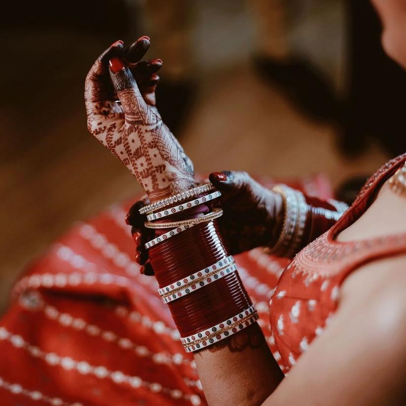 Latest Chura Design for brides