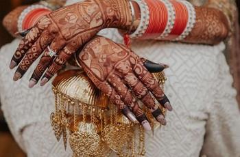 Nail Art Designs - Latest & Simple Nail Art Design Ideas for Bride Wedding