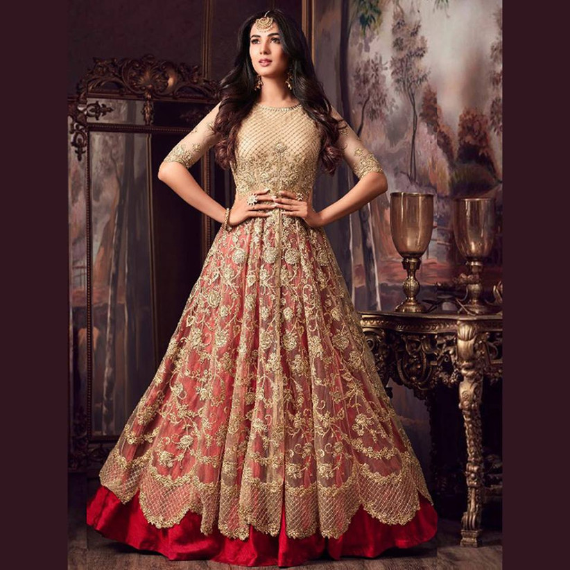 Wedding Gowns Indian: 7 Stores To Buy Indian Wedding Dresses Online To Look Like