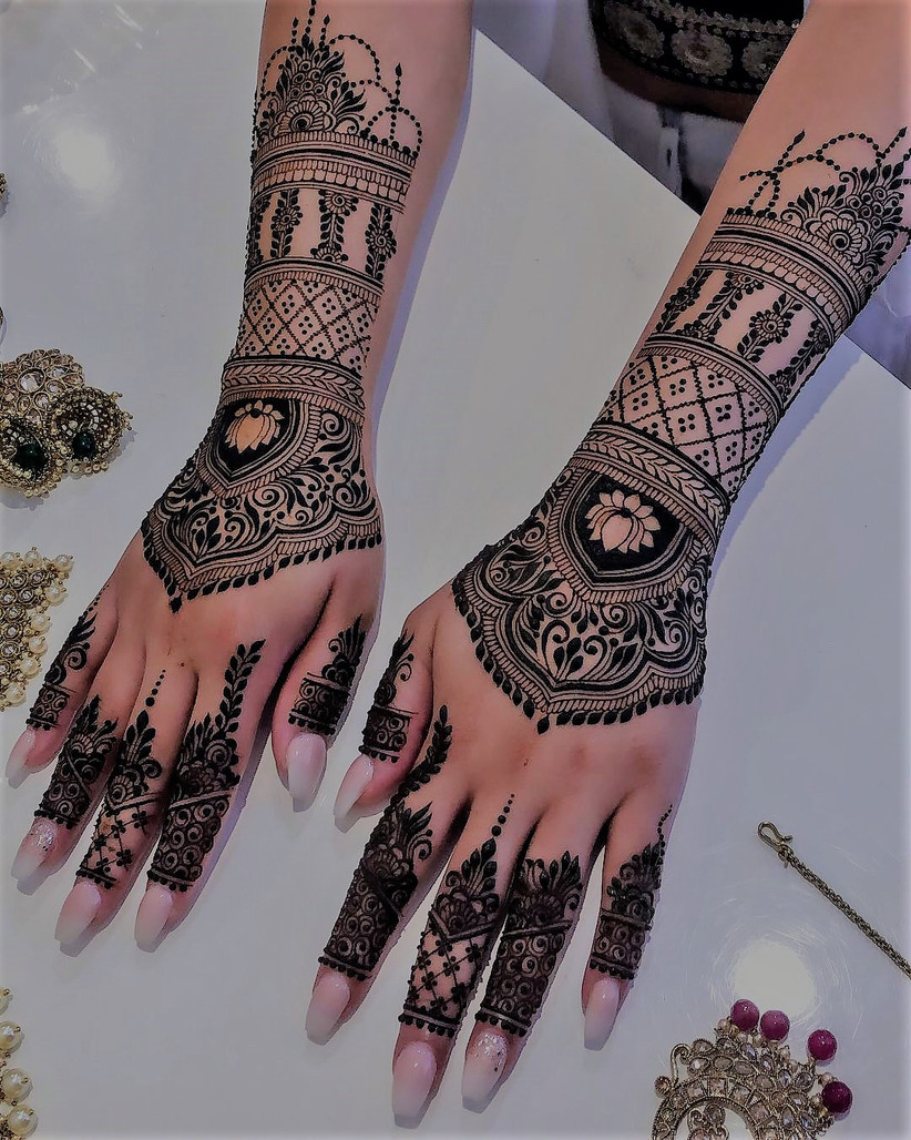 This Full Hand Mehndi Designs Gallery Has 13 Pictures We