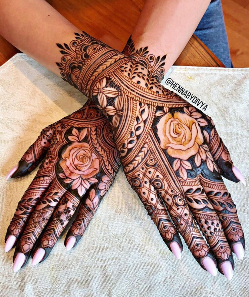 12 Quirky Dulhan Mehndi Designs To Complete Your Bridal Look