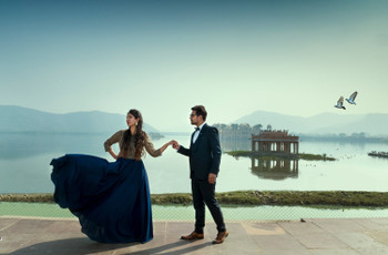 Here's Why Jal Mahal Would Be the Perfect Location for Your Magnificent Pre-Wedding Shoot