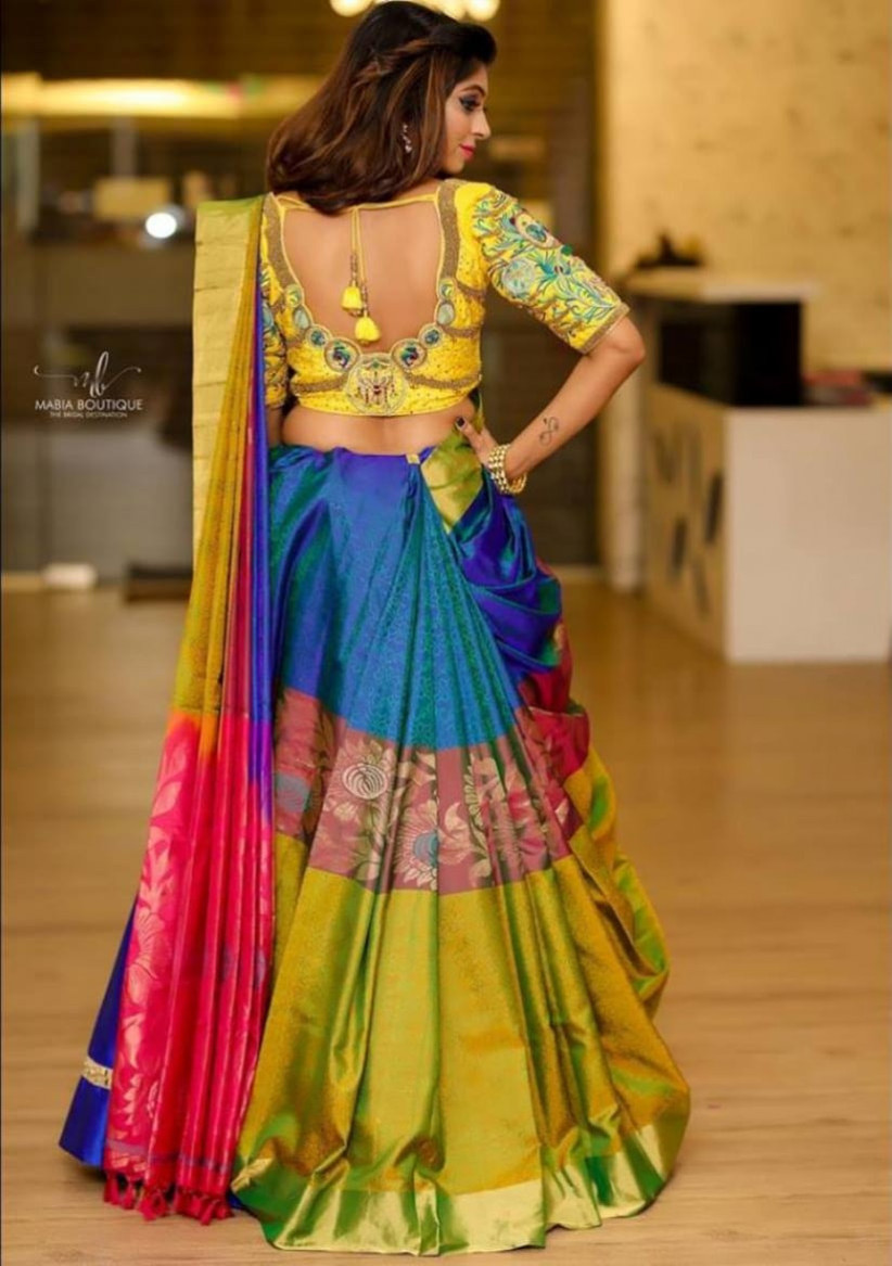 Cancan Saree 9 Examples Of How To Work This Hot Bridal Trend