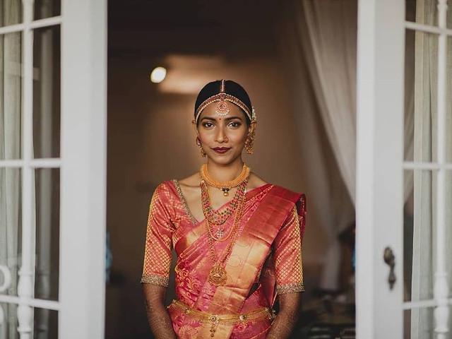 15 Gorgeous Kanjivaram Saree Designs to Kick Start the Wedding Division