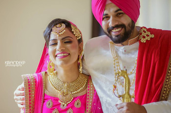 Punjabi Handwork Suit Images That Show What Rachel, Monica, Phoebe And Other Friends Would Wear To Your Wedding!