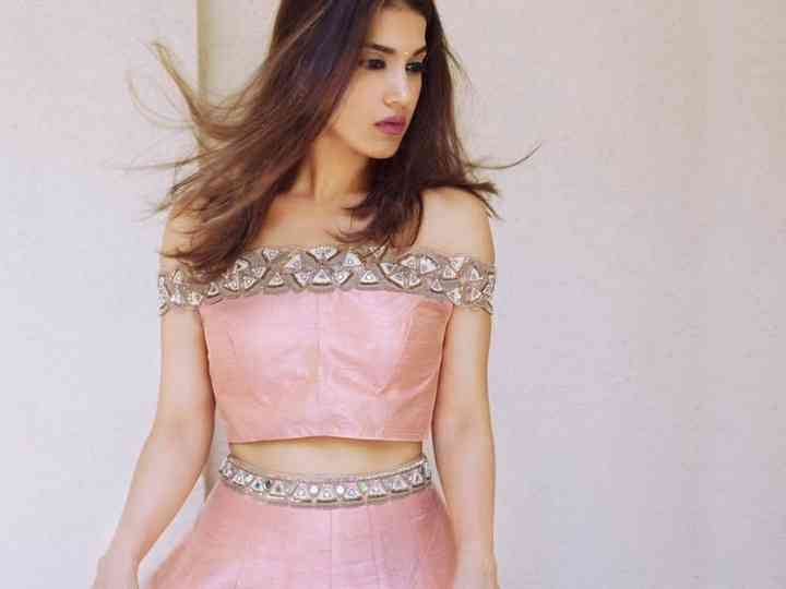 21 Crop Top And Lehenga Designs To Look Like The Perfect Bridesmaid At Your Bff S Wedding