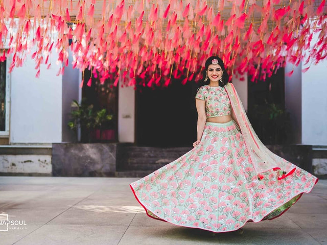 5 Hairstyle On Lehenga For Short Hair Options For Brides Who Want To Diy