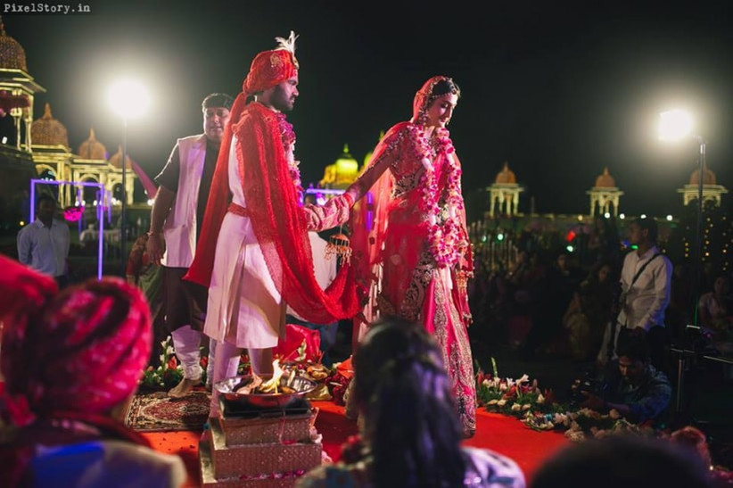 Take a look at the Rajasthani Marwari wedding rituals and traditions.