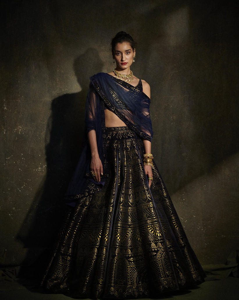 engagement dress lehenga by Seema Gujral