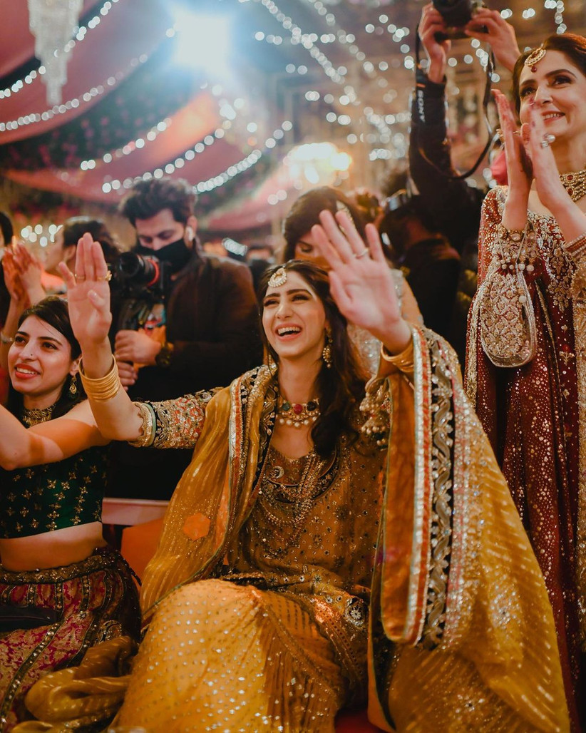 Phptorgaphy for sangeet night by Fatima Tariq Photography