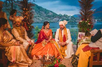 The Fairytale Wedding in the Kumaon Hills