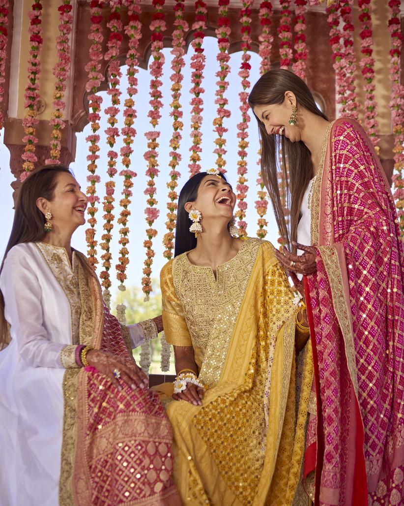 Hanna S Khan haldi ceremony