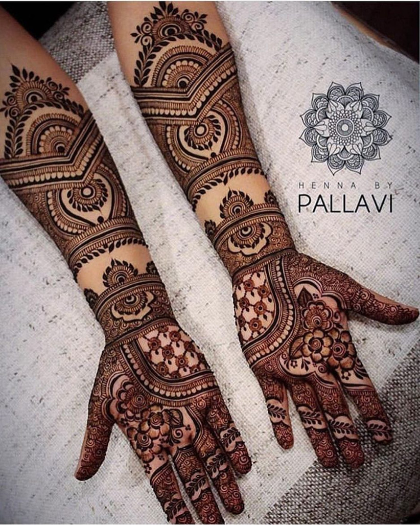 8 Indian Mehndi Designs for Hands That Will Make You Look