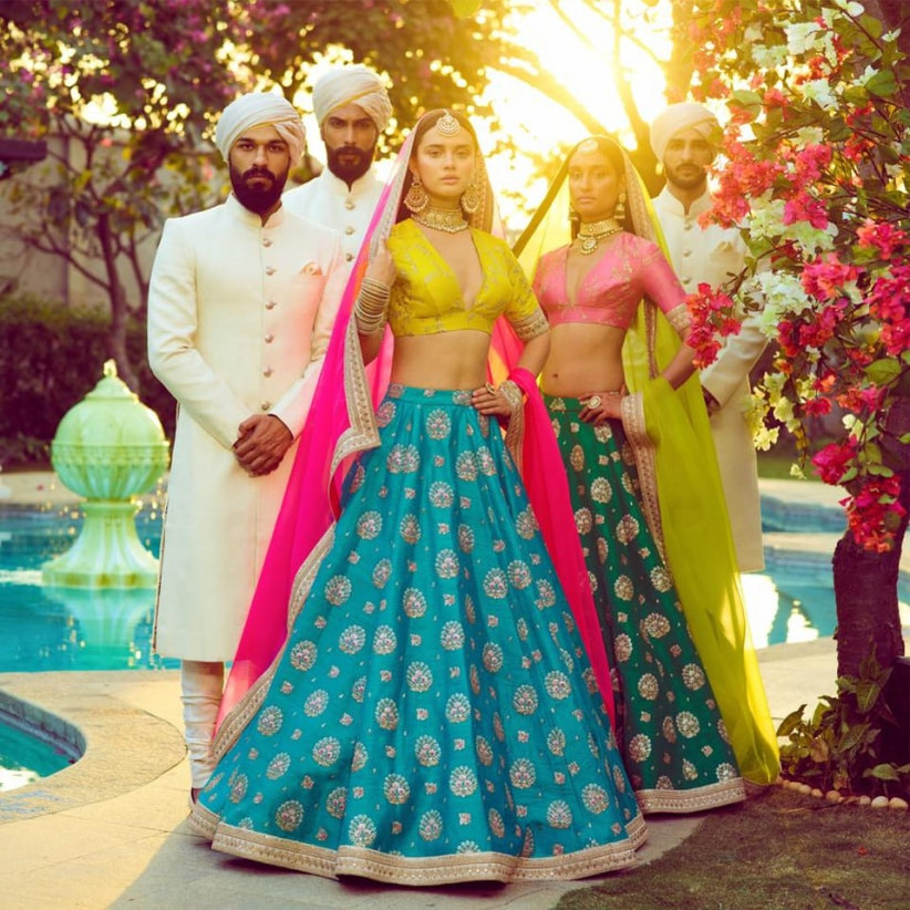 Want Stunning Sabyasachi Lehengas On Rent Head To These 5 Stores