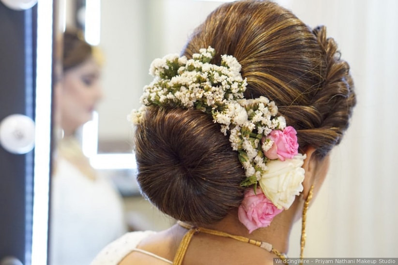 10 Latest Bun Hairstyles For The Modern Bride To Flaunt