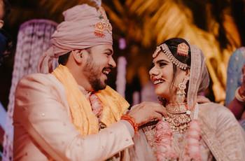 Intimate backyard wedding of Neer & Misaal