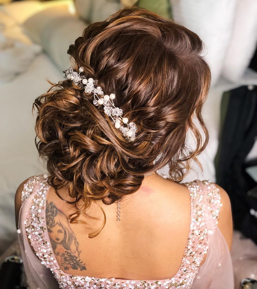 Wedding Hairstyle Juda: 7 Fancy Juda Hair Accessories That Make For A Head-Turning
