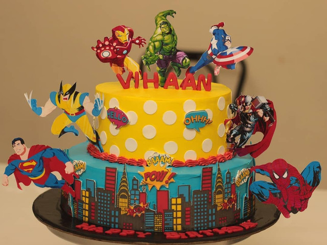 12 Incredible Cartoon Cake Ideas That Are The Ultimate Wedding Goals!