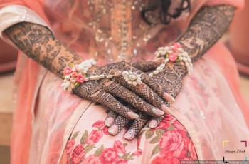 10 Simple Bridal Rajasthani Mehndi for Hands