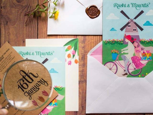 Get the Modern Look for Your Wedding Card with These Simple Tips!