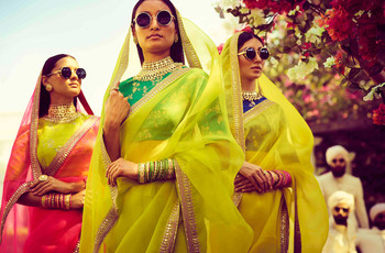 Designer Organza Sarees Handpicked for a Stunning Summer D-day Look