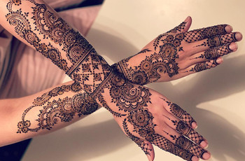 This Full Hand Mehndi Designs Gallery Has 13 Pictures We Guarantee You'll Love!