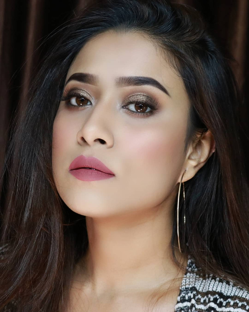 Beauty Influencer Barsha in Marie CLAIRE