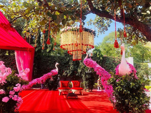 10 + All Possible Ways to Use Lush Peacock Designs for Your Monsoon Wedding