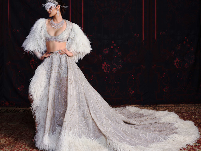 Falguni Shane Peacock Unveil a Bridal Couture Line 'Marry Me in Jaipur' at India Couture Week 2020