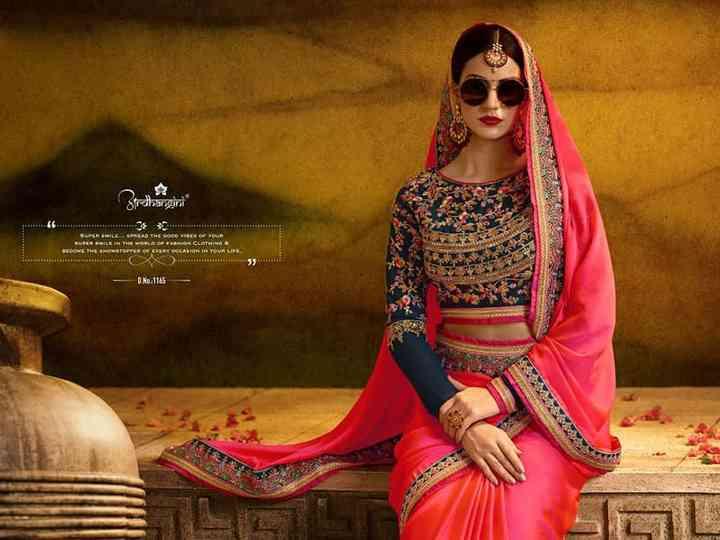 Verwonderlijk From Simple to Sensuous, 10 Wedding Saree Blouse Designs For The QF-01