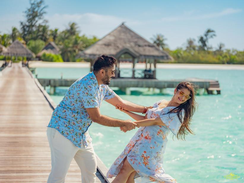 maldives pre-wedding shoot
